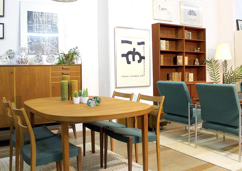 Diseño nórdico en el mundo vintage.